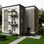 dom mieszkalny zaprojektowane w PaletteCAD warszawa