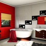 Łazienka spa zaprojektowane w PaletteCAD