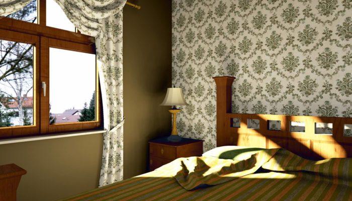 sypialnia wykonana w paletteCAD projektowanie wnętrz