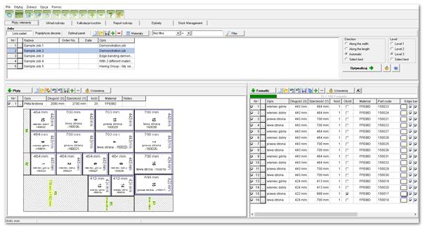 rozkrój paletteCAD program do projektowania