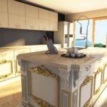 kuchnia wizualizacja w programie paletteCAD program do projektowania