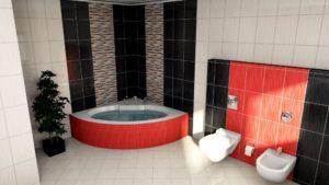 łazienka wizualizacja w programie paletteCAD