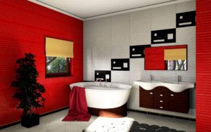 łazienka paletteCAD projekt wizualizacja