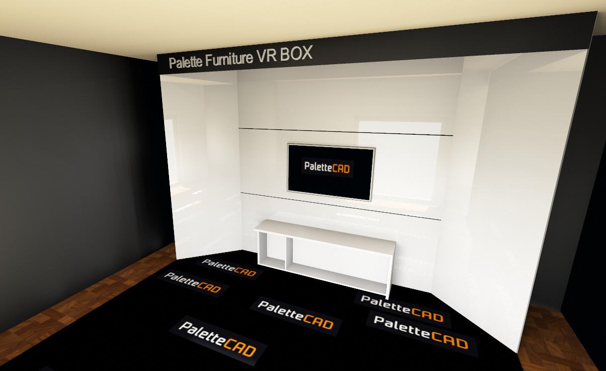 VR BOX w palette CAD czyli wirtualne wnętrze