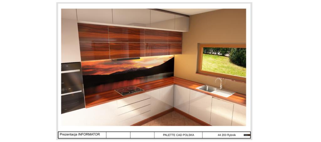 kuchnia wizualizacja w programie paletteCAD