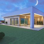 tył domu wizualizacja program do projektowania wnętrz