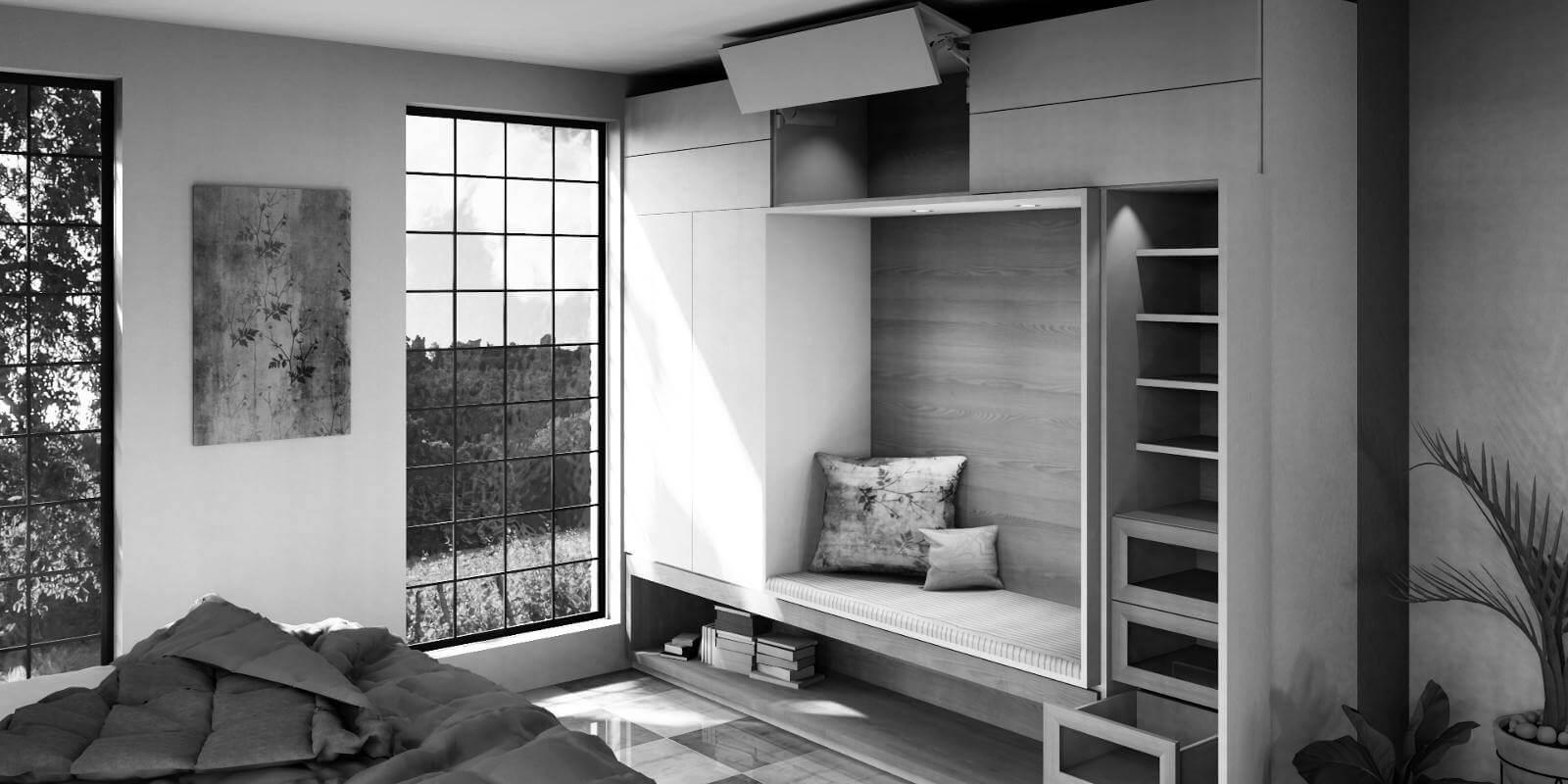 Program do projektowania wnętrz luksusowe pomieszczenie paletteCAD